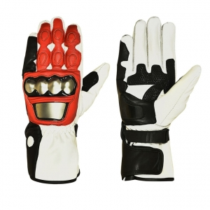 High grade leather motorcycle racing gloves